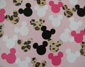 Ready to Ship - Minnie Mouse Birthday Party Confetti Hot Pink Leopard - 200 pieces