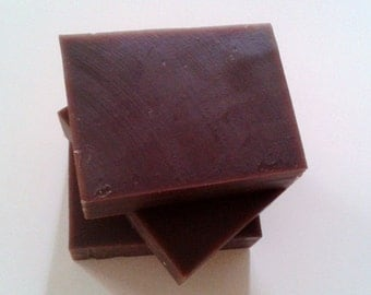 Almond Vanilla Oatmeal Stout Beer Soap- Exotic Unisex Cold Process Soap