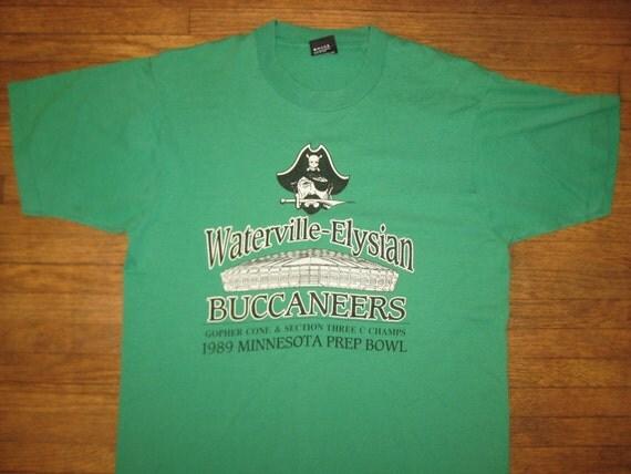 1989 Minnesota Prep Bowl football game t-shirt, large