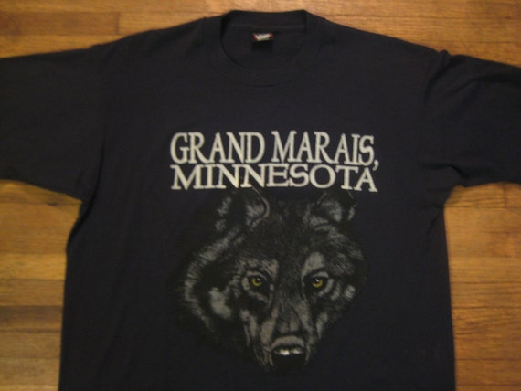 Late 1980's wicked sweet wolf t-shirt, XL