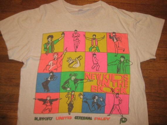 1990 New Kids On The Block t-shirt, XXL