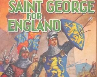 vintage 1960s book Saint George for England