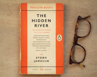 1950s penguin book The Hidden River by Storm Jameson