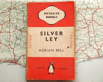 Orange Penguin book Silver Ley by Adrian Bell