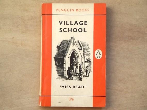 Vintage Village School old penguin book