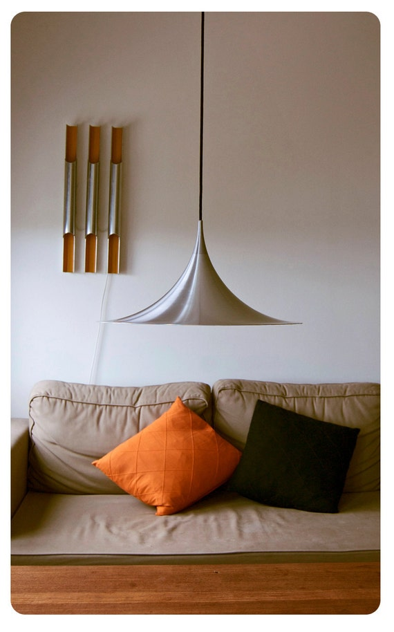 RESERVED - Danish design hanging lamp. Semi by Claus Bonderup and Torsten Thorup 1968 Vintage