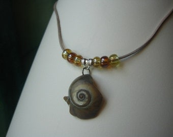 Vacation at the Ocean Seashell Necklace