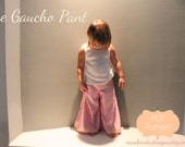 The Gaucho Pant, PDF Pattern, Sizes Newborn-Girls' 14