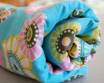 Baby Blanket - Toddler Blanket - Sugar Pop Blue baby blanket
