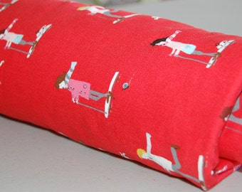 Baby Blanket - Toddler Blanket - Red Skateboard for Baby Girl or Baby Boy - Red Baby Blanket