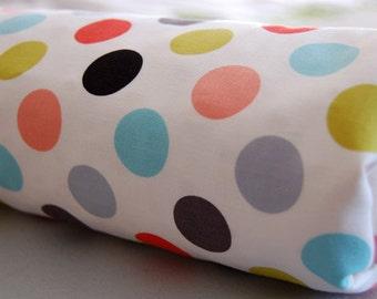 Baby Blanket, Toddler Blanket, Polka Dot, Summertime, Boy, Girl, Blanket