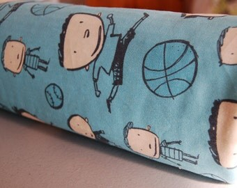 Baby Blanket - Toddler Blanket -  Blue Baby Blanket for baby boy