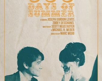 500 Days of Summer Film Poster v1