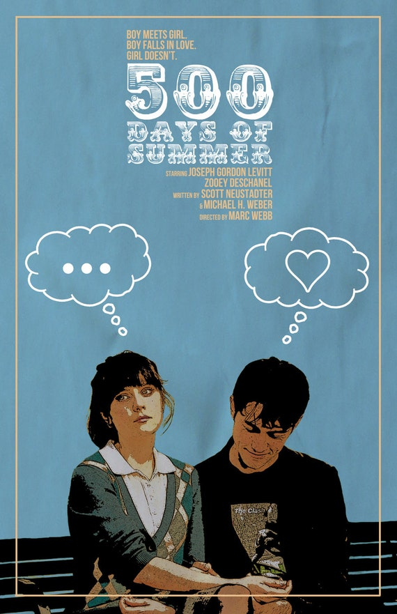 500 Days of Summer Film Poster v3