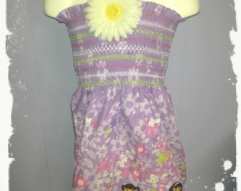 Sale DORA purple mock smock