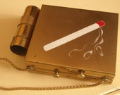 Carryall Lipstick Compact Cigarette Match Design
