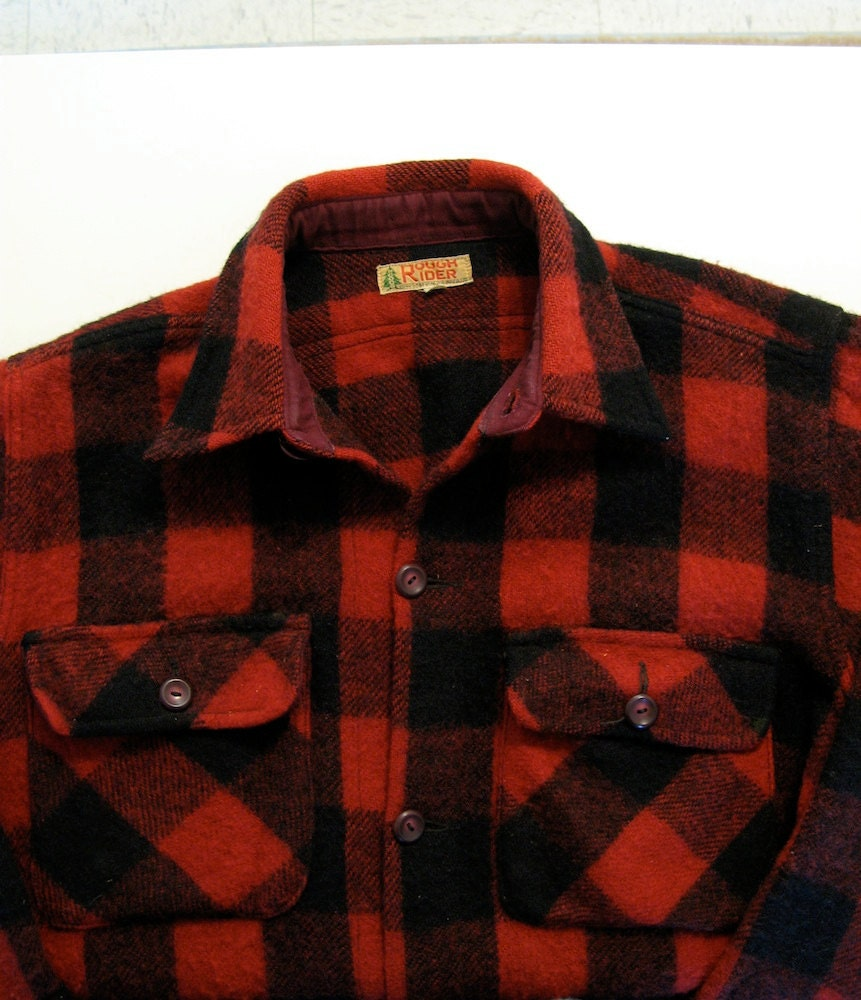 Red Buffalo Plaid Shirt Women