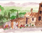 San Gimignano Original Landscape Tuscany