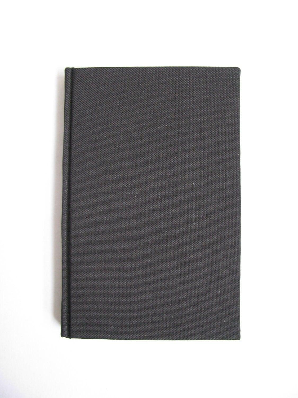 Blank Black Book Cover ~ Little black book handmade blank pocket by ealasaidh on etsy