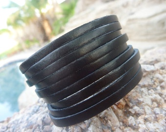 Leather Bracelet.Charms Leather Bracelets .Men&Lady's.Unisex.