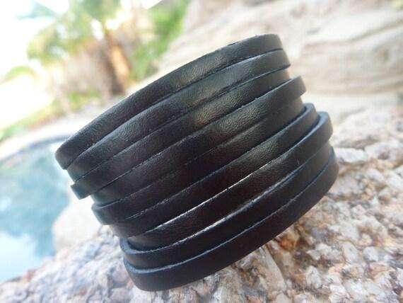 Leather Bracelet.Charms Leather Bracelets .Men&Lady's.Unisex.