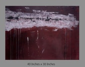 NAME YOUR PRICE - Original Gallery Wrap Abstract Art - Modern Wall Art With Deep Canvas.