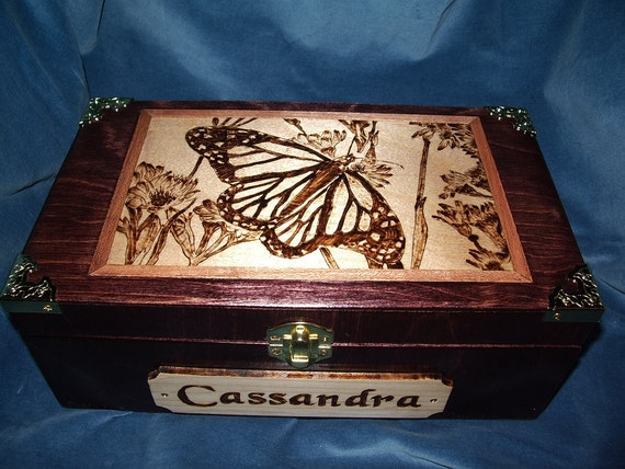 CUSTOM MADE to ORDER Jewelry/Trinket Box