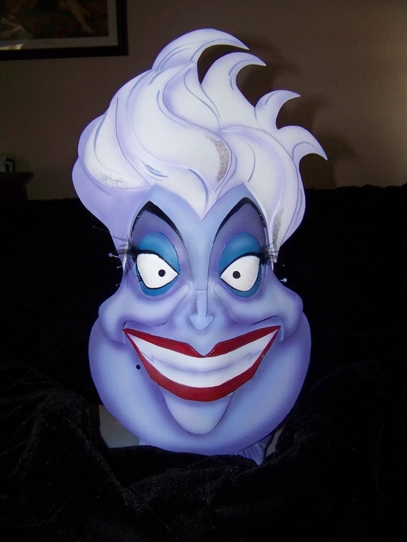 Evil Little Mermaid Ursula Evil Que...