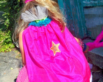 High Fashion Super Hero Cape, Haute Hero, Super Hero Halloween Costume