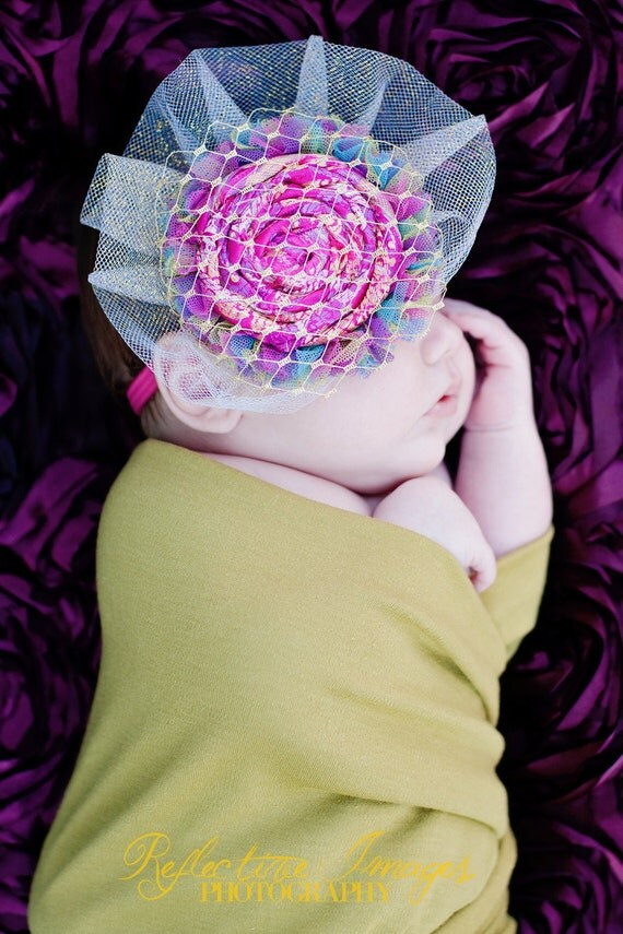 The Fun and Flirty Gerty Headband, Photo Prop, Child Headband, Headpiece