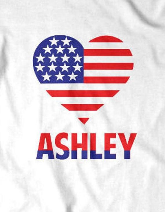 Personalized American Heart women custom shirt