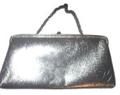 Vintage Silver Clutch from the 60's