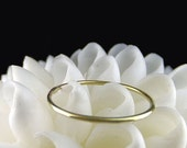 Barely There 18k Solid Yellow Gold Ring