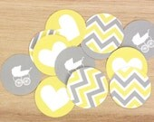 Printable: Chevron Shower or Party Cupcake Toppers