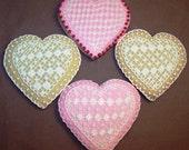 Lacy Heart Sugar Cookies - 1 dozen