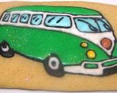 VW Van/Hippie Van cookies - 1 Dozen