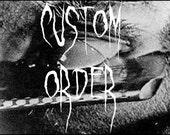 Custom T- Shirt order
