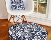 pouf floor pouf ottoman modern and chic floor round cushion designer fabric