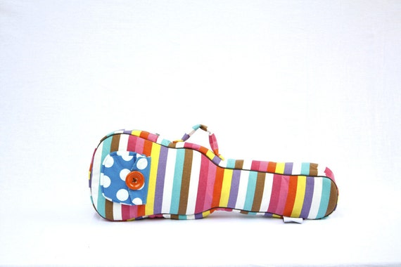 Ready to ship - Candy Pop - Colorful Pastel Ukulele Bag (Concert size)