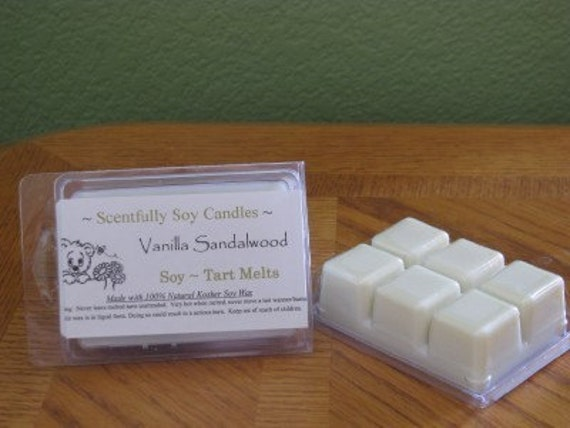 4 - 6 Packs of Soy Wax Tart Melts - Always A Dye Free Product