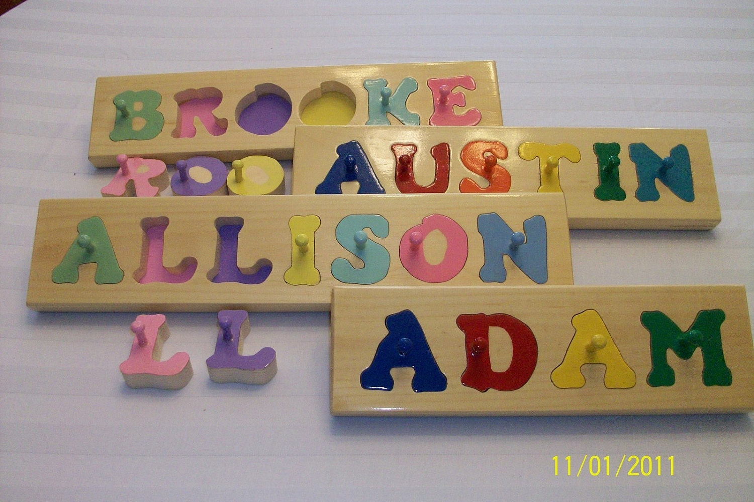 Hand crafted personalized wooden name puzzles must5rg4 grt zoom negle Gallery