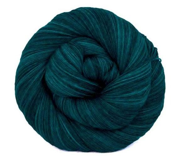 "Isotope 6-Ply Heavy Lace Superwash Merino Hand Dyed 750yds Yarn ""Penelope"""