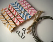 Kids Art Display. Chevron Clothesline Kit. Indoor. Clothespins. Rainbow. Photo Display. Photo Frame. Pins. Picture. Home Office. Banner.