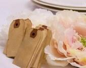 150 Escort Card. SMALL Travel Wedding Favor Tag. Destination. Vintage Wedding. Bohemian. Anthropologie. Hang Tag. Place Card. Blank. LIGHT
