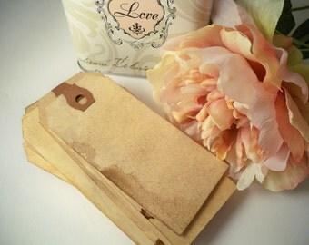 50 MEDIUM Vintage Tag. Travel Theme Bohemian Wedding Anthropologie Wedding Gift Tag Luggage Tag Escort Card Place Card Destination Wedding