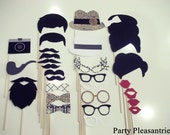 SALE:  Party Pleasantries - The ULTIMATE MADMEN Collection- 28 Piece Photo Props