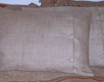 "Standard-Queen Pillow Sham with 3 Buttons  26"" X 20"" Lined"