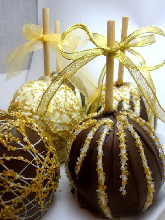 RESERVED listing for Kelly K. - Caramel Chocolate Gourment Thanksgiving Apples