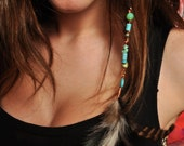 Feather Hair Extension Clip-Hippie Maddo