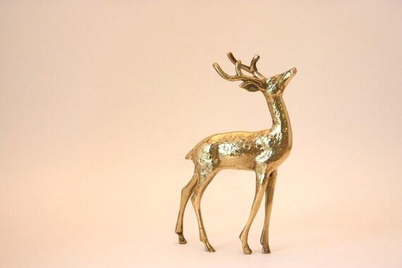Gorgeous Solid Brass Deer